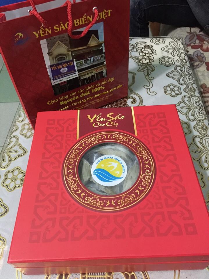 Tổ Yến Sào Thô Biển Việt chất lượng hàng đầu