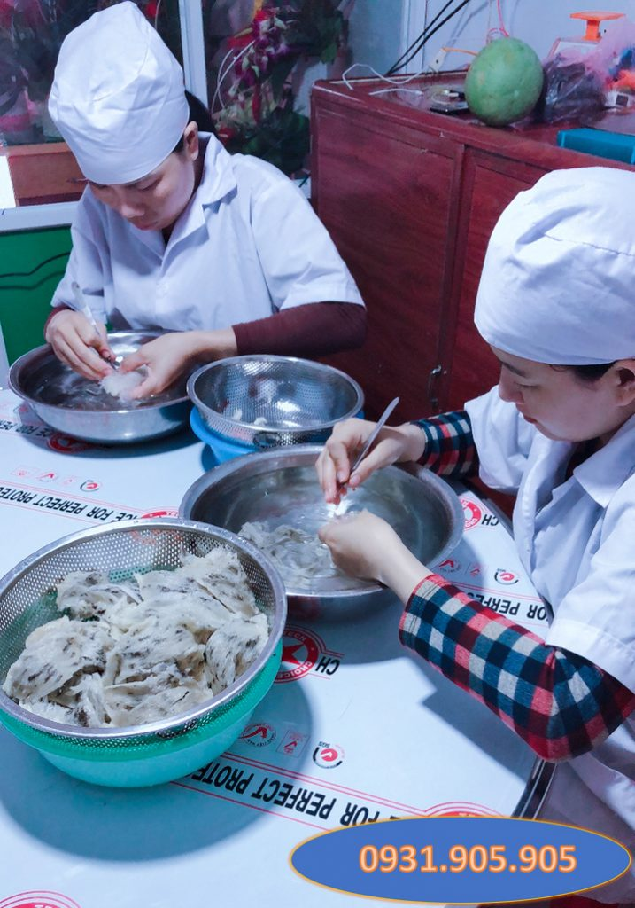 Tổ yến sào làm sạch lông tại Đà Nẵng